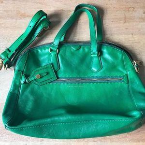 MARC by Marc Jacobs Green Dome Satchel Handbag